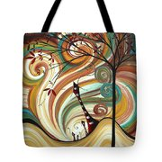 Out West II By Madart Tote Bag