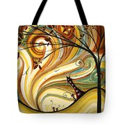 Out West Original Madart Painting Tote Bag