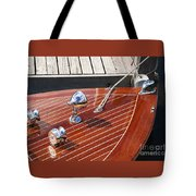 Outboard Runabout Tote Bag