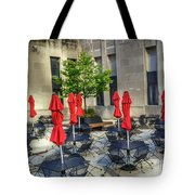 Outdoor Cafe Tote Bag