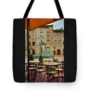 Outdoor Dining Tote Bag