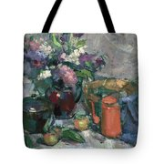 Outdoor Lilacs Tote Bag