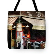 Outdoor Seating Tote Bag