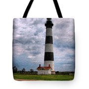 Outer Banks Beach Lighhouse  Tote Bag