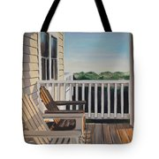 Outer Banks Morning Sun Tote Bag