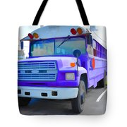 Outer Banks University Bus 1 Tote Bag