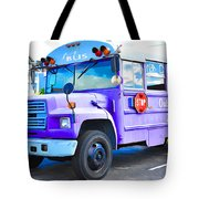 Outer Banks University Bus 2 Tote Bag