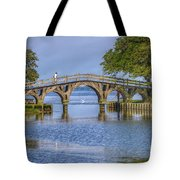 Outer Banks Whalehead Club Bridge  Tote Bag