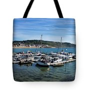 Outer Harbour - Lyme Regis Tote Bag