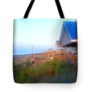 Outerbanks Sunrise At The Beach Tote Bag