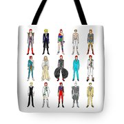 Outfits Of Bowie Tote Bag