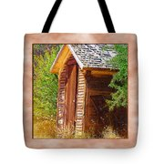 Outhouse 1 Tote Bag