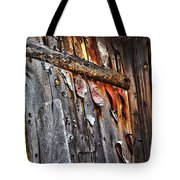 Outhouse Holzworth Historic Site Tote Bag