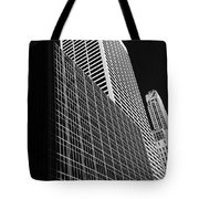 Outlines New York City Tote Bag