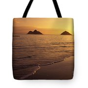 Outrigger Canoe Paddlers Tote Bag