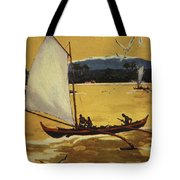Outrigger Off Shore Tote Bag