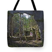 Outside Looking In Tote Bag