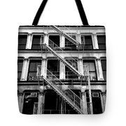 Outside Stairs Tote Bag