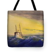 Outside The Jetty Tote Bag