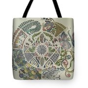 Outside The Mandala Tote Bag