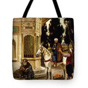 Outside The Palace Tote Bag