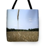 Outstanding In Its Field. Tote Bag