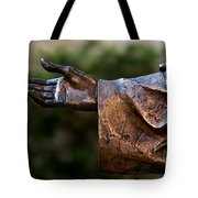 Outstretched Hand Tote Bag