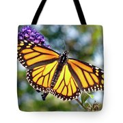 Outstretched Monarch Tote Bag