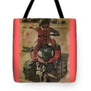 Outta My Way Tote Bag