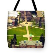 Oval At University Of Montana  Tote Bag