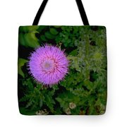 Over A Thistle Tote Bag