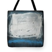 Over Blue Tote Bag
