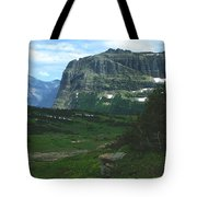 Over Logan's Pass Tote Bag