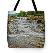 Over Natures Dam Tote Bag