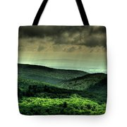 Over Shadowing Tote Bag