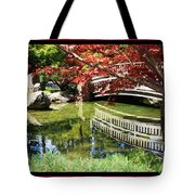 Over Springtime Pond Tote Bag