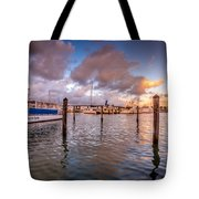 Over The Bay Tote Bag