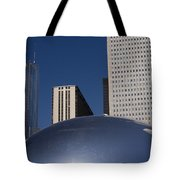 Over The Bean Tote Bag