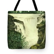 Over The Edge Tote Bag