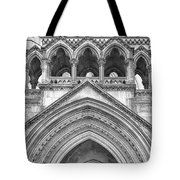 Over The Entrance To The Royal Courts  Tote Bag