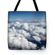 Over The Heavenly Clouds Tote Bag