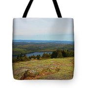 Over The Horizon Tote Bag