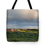 Over The Land Tote Bag