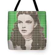 Over The Rainbow Green Tote Bag