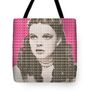 Over The Rainbow Pink Tote Bag