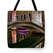 Over The River And Through The Buildings Tote Bag