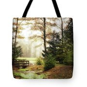 Over The River Tote Bag