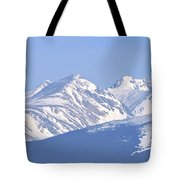 Over The Rockies Tote Bag