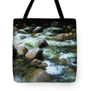 Over The Boulders - Mossman Gorge, Far North Queensland, Australia Tote Bag
