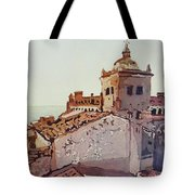 Over The Rooftops, Caceres Tote Bag